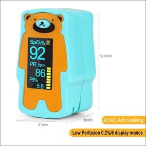 Image 5 - RZ Oximeter ילד נייד אצבע Oximeter אצבע Oximeter ביתי בריאות צגי קצב לב PR SPO2 תינוק Oximeter
