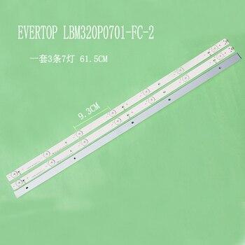 12Pieces/lot   FOR    BDM3201F      EVERTOP LBM320P0701-FC-2    61.5CM    100%NEW