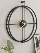 Nordique Horloge Murale Design Moderne Grand Bureau Horloges Murales Salon Décoration Muet Grande Cuisine Pendaison Montre Livraison Directe