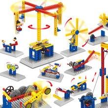 Детская образовательная научная diy мелких частиц строительные
