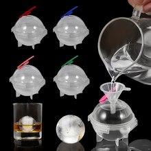Neue 5CM Runde Ball Ice Cube Mold DIY Eismaschine Kunststoff Eis Form Whisky Eis Tablett für Bar werkzeug Küche Gadget Zubehör
