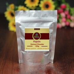 100-1000g, poudre de papaïne d'enzymes digestives végétales naturelles, poudre d'extrait de papaye, papaye, Absorption nutritionnelle de haute qualité