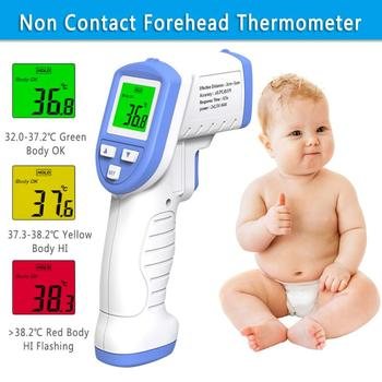 Professional IR Infrared Digita Non Contact Forehead Thermometer For Adult Kids Forehead Thermometer Infrared Temperature Gun