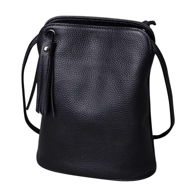 本革タッセルクロスボディバッグ女性の高級財布レディーススモールショルダーバッグファッションマネー財布女性メッセンジャーバッグ