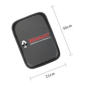 Image 2 - 自動コンソール中央アームレストルノーコレオスのためのソフトパッドクッションマットダスターメガーヌ2カーシートボックスパディング保護ソフトマット