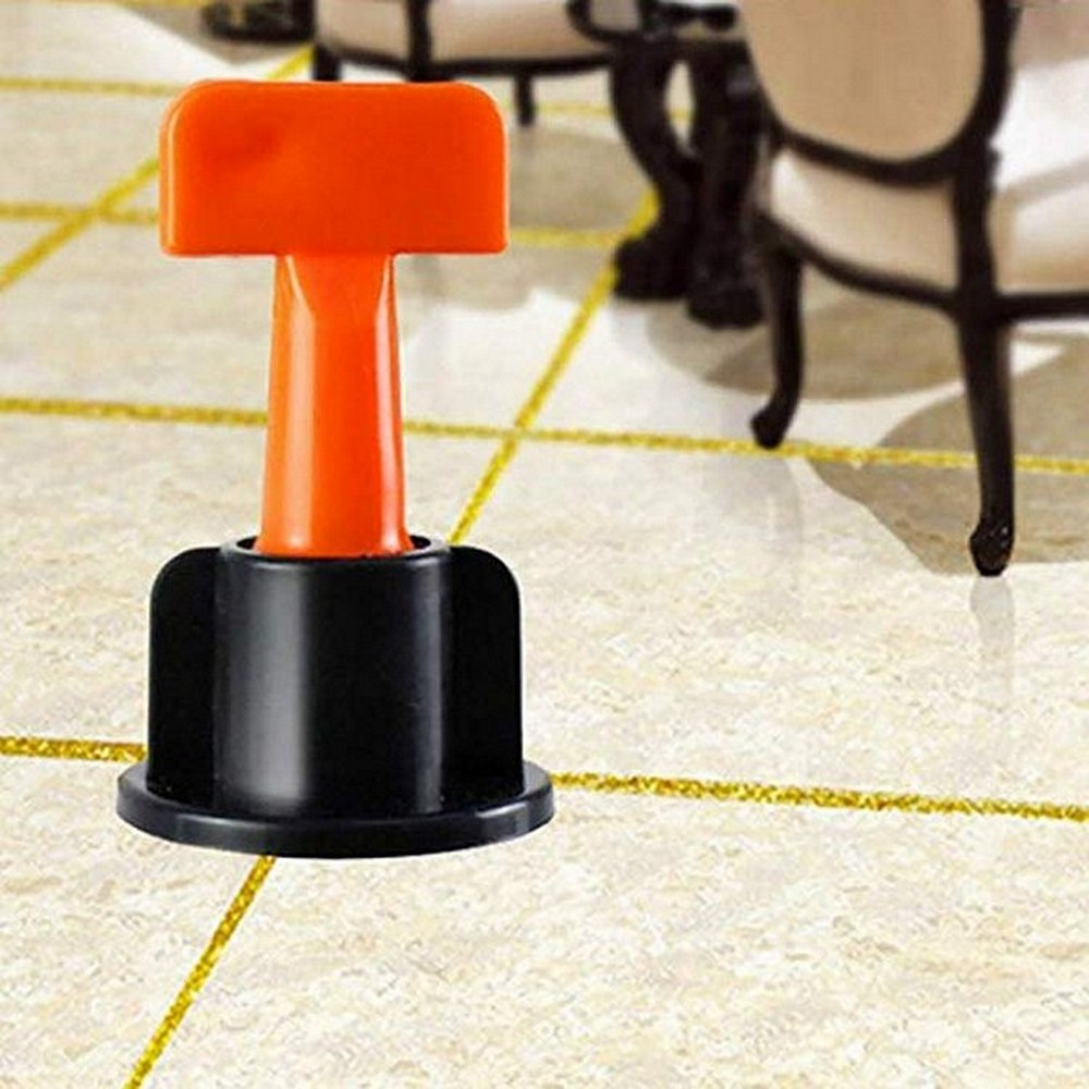 50PCS Mini Tile Leveling System Level Wedges For Flooring Wall Tile Carrelage Leveling System Leveler Locator Spacers Plier