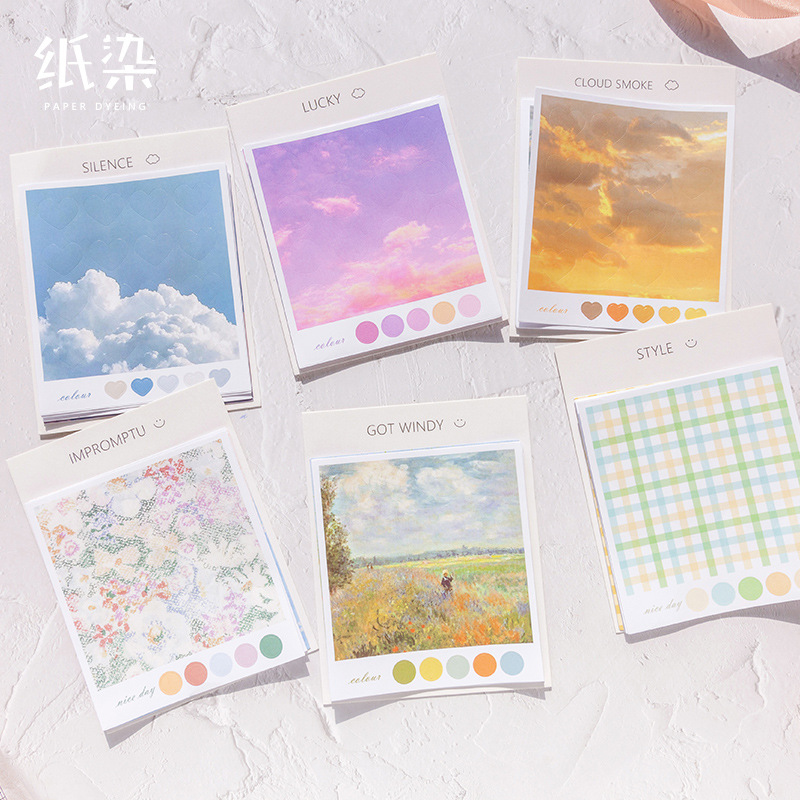 1set/1lot Kawaii Stationery Stickers Clouds And Smoke Diary Decorative Mobile Stickers Scrapbooking DIY Craft Stickers