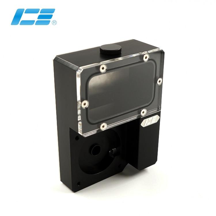 Iceman Cooler DDC Combo Res For Ncase Chasis M1 V4 V5 V6 ,Ncase Reservoir ,Black Water Tank ,125x89x41MM