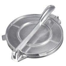 8 дюймов складной DIY тортилья пресс-Сковорода алюминиевый кондитерский пирог пресс для кухни тортилья торт пресс посуда инструмент для выпечки