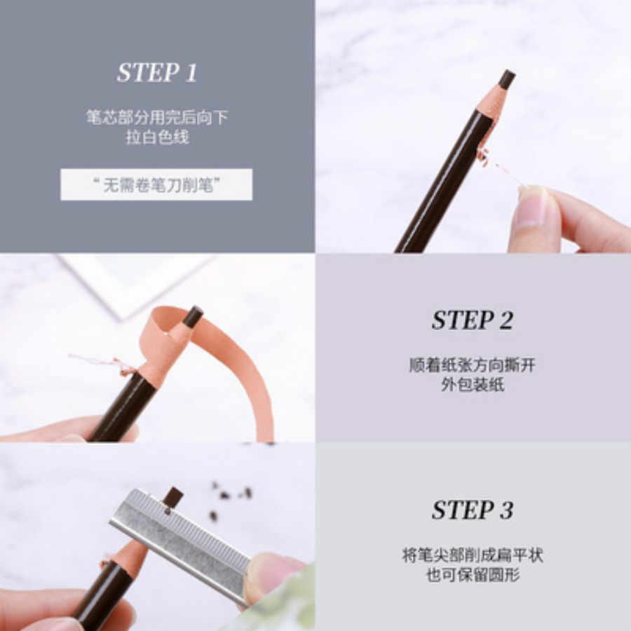 1 Cái Thời Trang Nữ Trang Điểm Chuyên Nghiệp Bút Chì Kẻ Lông Mày Chống Nước Mắt Nâu Lông Mày Hình Xăm Nhuộm Tint Pen Liner Bền Lông Mày