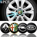 4 шт. 56 мм Автомобильный логотип ступицы колеса Центральная Наклейка для Toyota TRD пегинана RAV4 Avensis Yaris Levin Reiz Crown Vios Sienna автомобильные товары