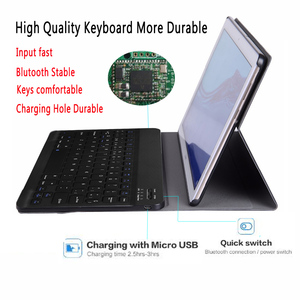 Image 3 - Tây Ban Nha Bàn Phím Dành Cho Máy Tính Bảng Huawei Mediapad T5 10 10.1 AGS2 L09 AGS2 W09 AGS2 L03 Dành Cho Huawei T5 10.1 Bàn Phím Funda