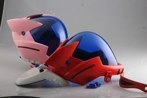 Image 4 - Аниме EVANGELION EVA шлем Asuka Langley Soryu шлем Ayanami Rei Акриловая Маска Косплей Хэллоуин реквизит