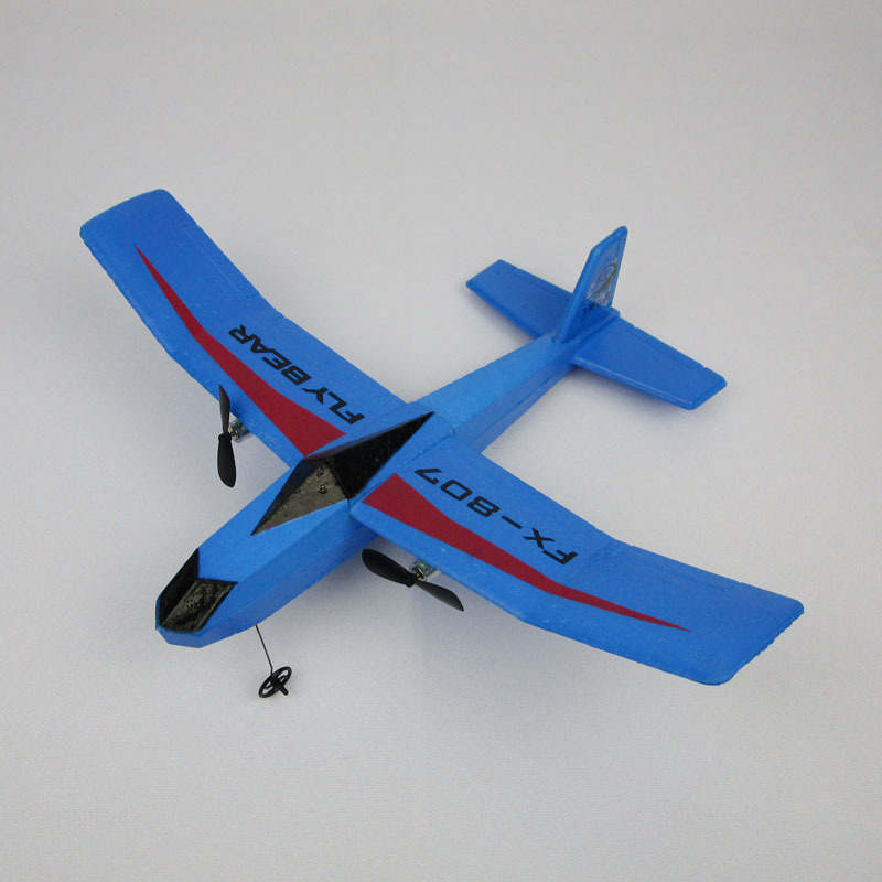 Fx-807 Remote Control Gliding Machine EPP Foam Drop-resistant Airplane Fixed-Wing Gliding Airplane Model Toy