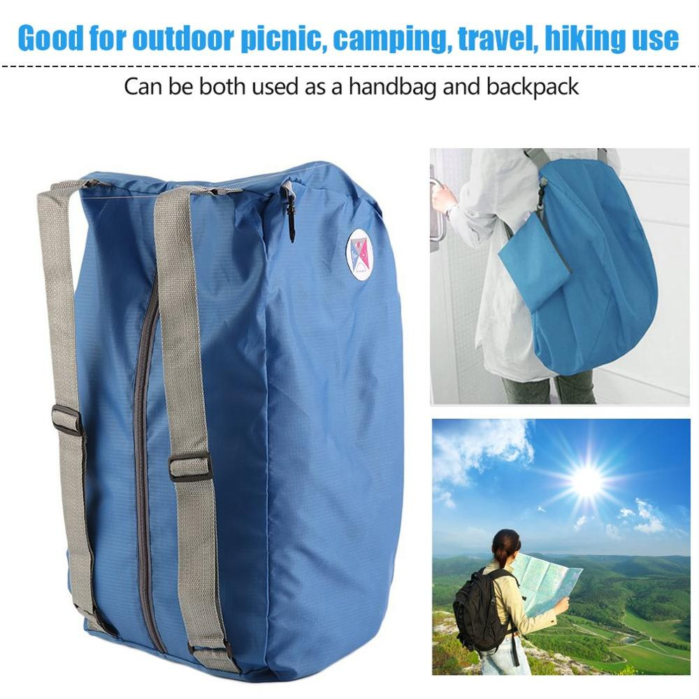 2019 Unisex Folding Backpack Hiking Camping Bag Outdoor Sport Backpack Waterproof Foldable Travel Backpack