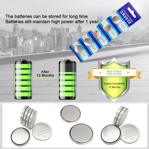 Image 4 - PUJIMAX 5pc/pack CR2032 Watch Button Battery DL2032 BR2032 KL2032 3V Lithium Clock Laser Pen LED Light Computer Coin Battery