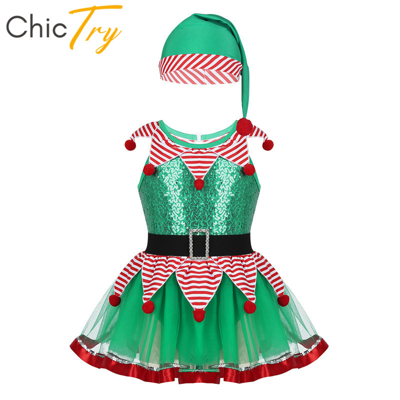 Sombrero Rojo Lentejuelas Santa Padre Navidad Elaborado Vestido Traje Accesorio Fiesta De Navidad