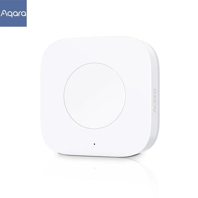 Aqara Smart Wireless Switch Key Intelligent Application Remote Control ZigBee Wireless Biult in Gyro for  App Control