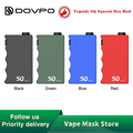 Новый оригинальный DOVPO Topside SQ Squonk бокс мод с 10 мл силиконовой бутылкой мощность от одного 21700 батарейный блок мод Vape vs DOVPO Topside