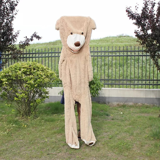 Selling Toy Big Size 200cm American Giant Bear Skin Teddy Bear Coat Good Quality factory Price Soft Toys For Girls