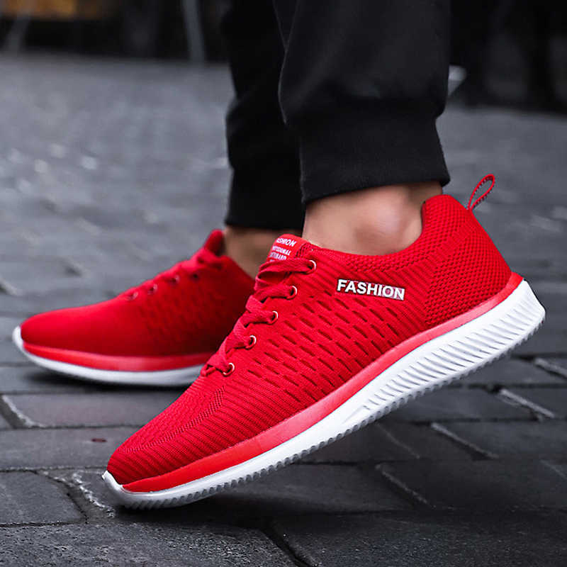 LZJ جديد الرجال أحذية أنيقة حذاء رجالي غير رسمي رخيصة الرجال أحذية رياضية الأسود تنفس أحذية 2019 الذكور أحذية رياضية Zapatillas هومبر