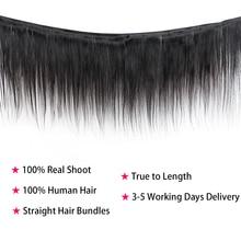 Straight Double Human Hair Weave Bundle