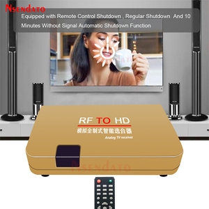Image 3 - RF To HD All Standard Converter HD To Radio Frequency Signal RF to HD Transmitter Signal Analog TV Receiver Adapter for TV