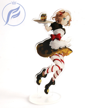 FANGQINGMA Подгонянный напечатанный аниме шарм акриловая модель рис.