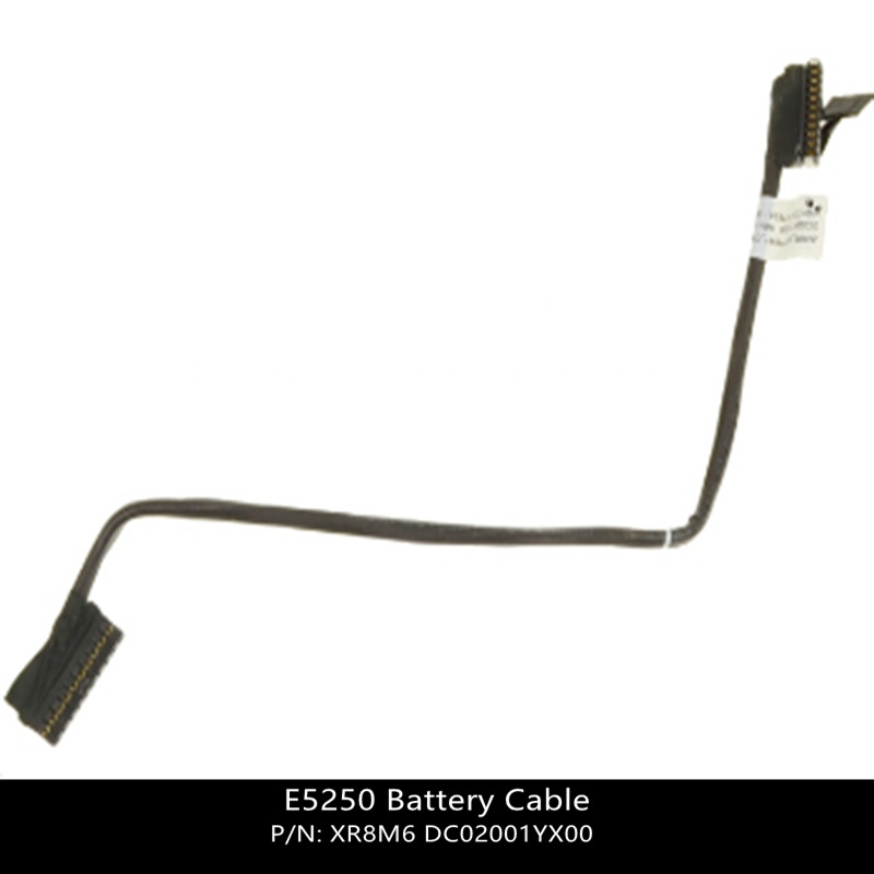 New For Dell  E5250 Battery Cable - Cable Only - XR8M6 0XR8M6 DC02001YX00 W/ 1 Year Warranty