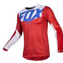 2021 THXPFOX MTB Downhill Mountain Bike Jersey Jersey Motocross Jersey MOTO DH MX