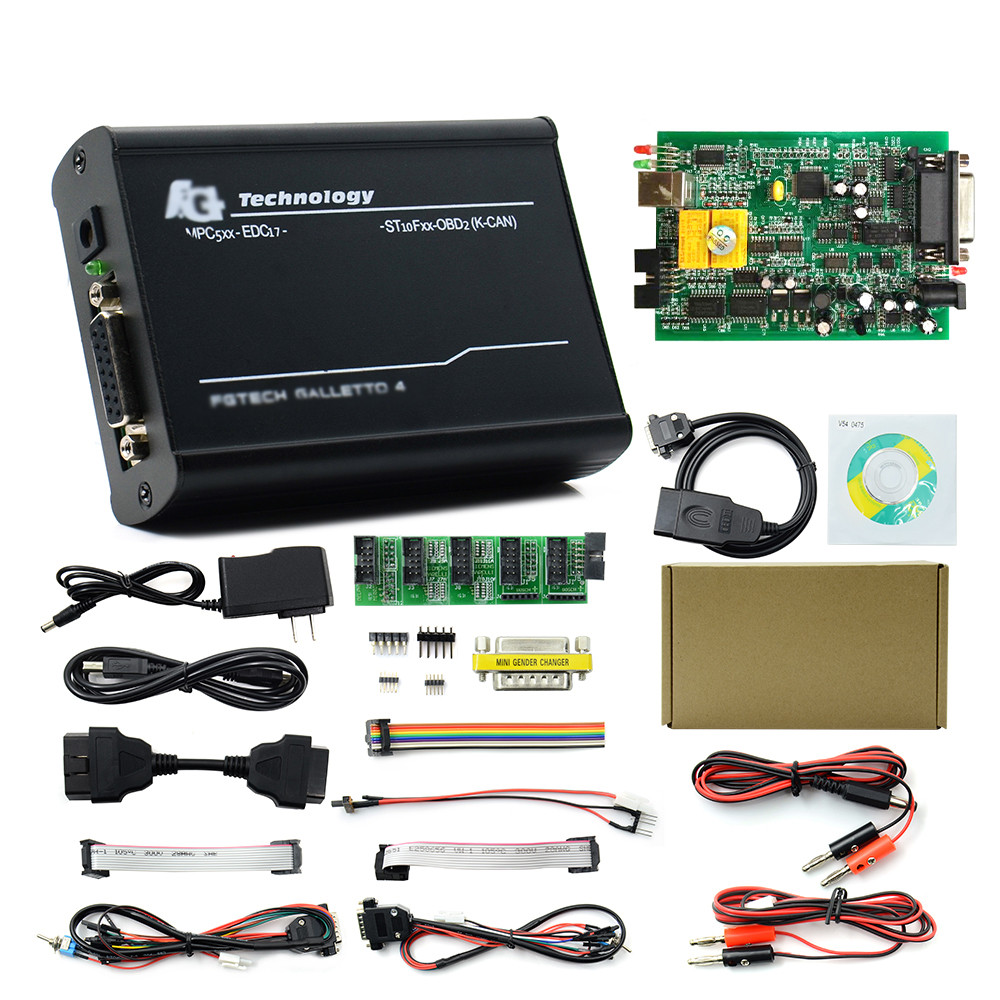 V54 FGTECH Galleto 4 Master FW 0475 Euro Version BDM OBD Function Multi Language Fgtech V54 FW 0386 ECU Programmer