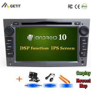 IPS Android 10 2 DIN DVD GPS for opel Vauxhall Astra H G J Vectra Antara Zafira Corsa Vivaro Meriva Veda Multimedia