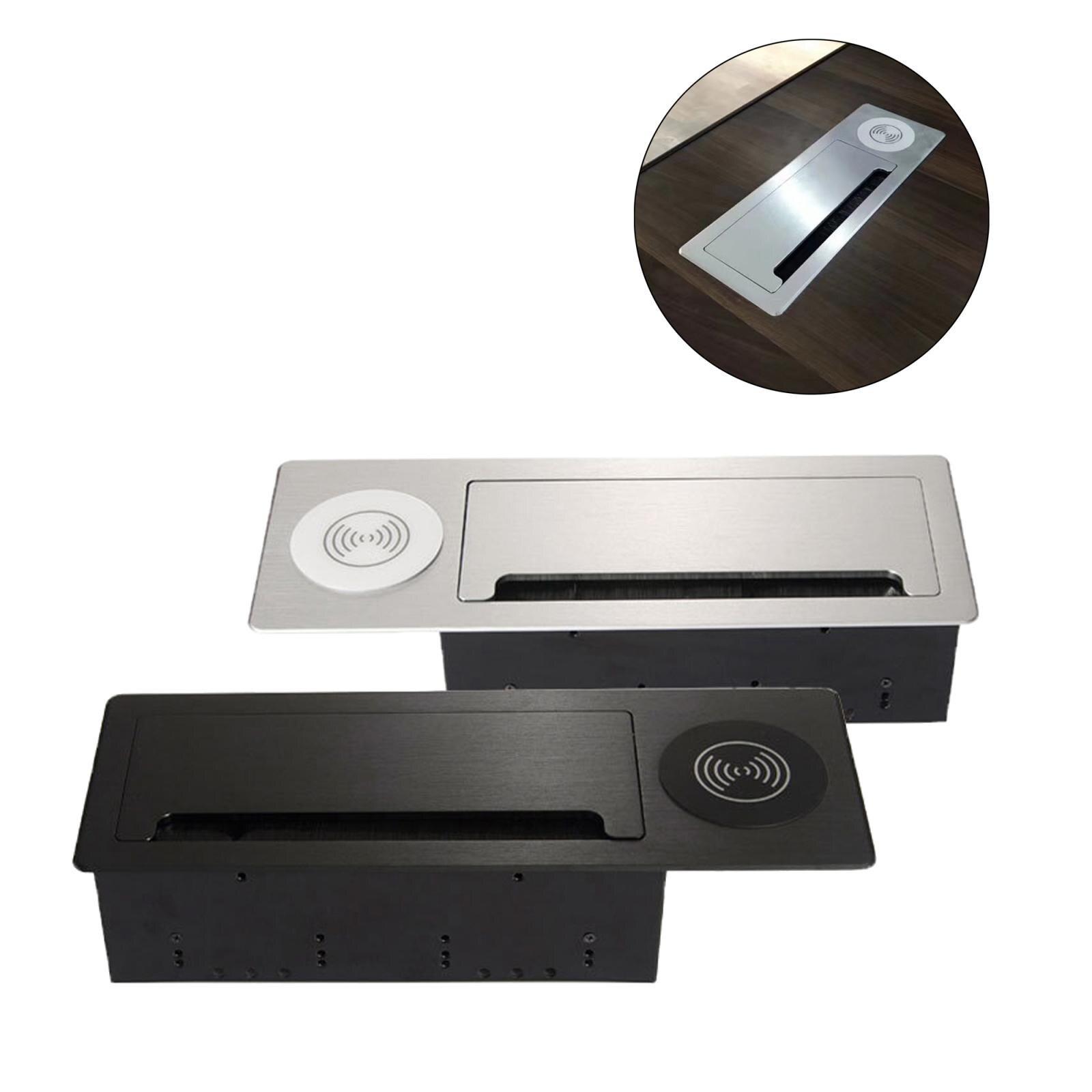 soquete com carregamento usb placa liga aluminio 05