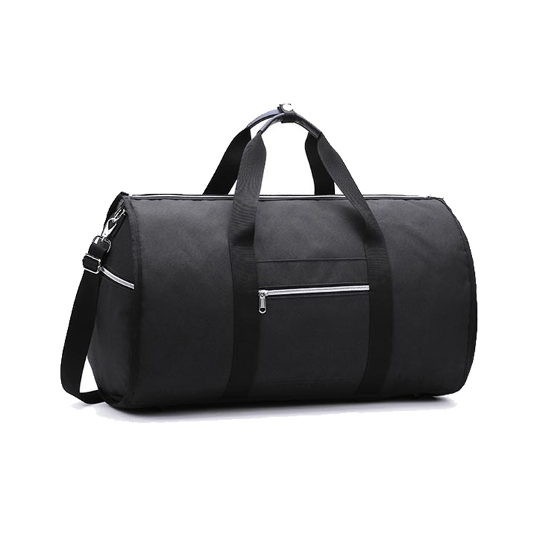 Convertible 2 In 1 Garment Bag With Shoulder Strap, Luxury Garment Duffel Bag For Men Women Hanging Suitcase Suit Travel Bags Bl