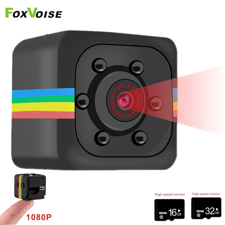 Мини-камера с микро ночным видением, мини-камера, Спортивная DV-камера с датчиком, автомобильная видеокамера с датчиком движения, видеомонит...