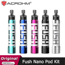 Вейп набор Acrohm Fush Nano Pod с аккумулятором 550 мА · ч, картриджем 1,5 мл, испарителем для электронных сигарет MTL и DTL