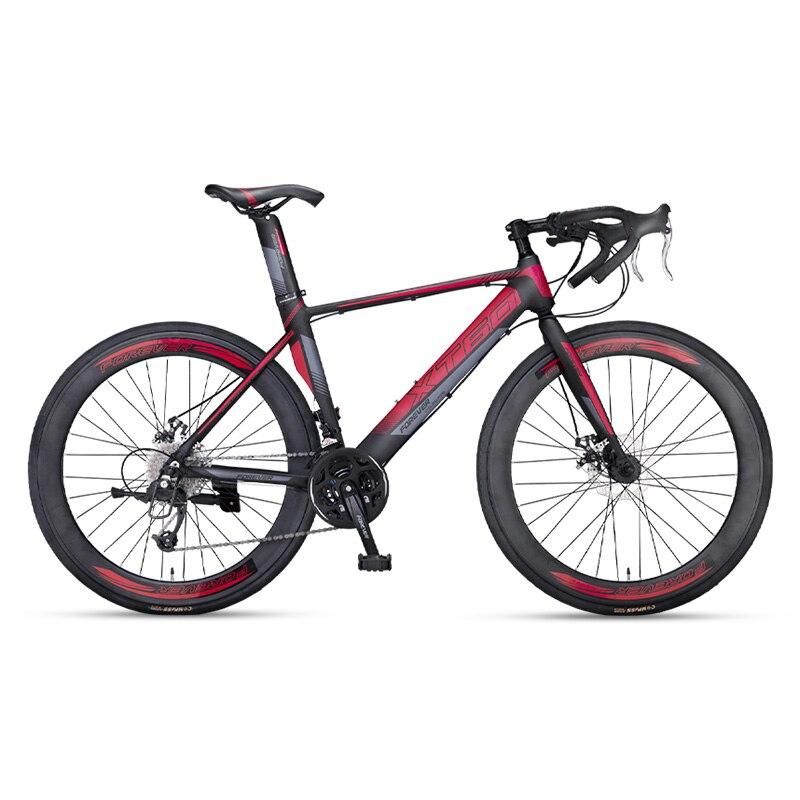 Дорожный велосипед, гоночный мужской ультралегкий алюминиевый сплав для взрослых 700c Broken Wid Ssift