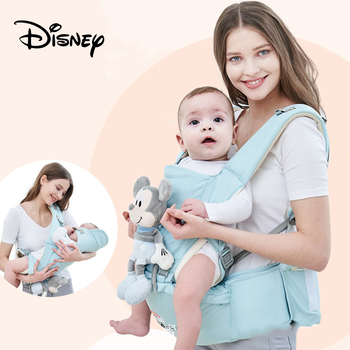 Disney The New Baby Backpacks Carrier Waist Stool Child Adjustable Travel Baby Waist Stool Ergonomic 360 Newborn Baby Hip Seat lightweight breathable baby sling waist stool backpacks carries multiple back child stool scientific design to ease the load