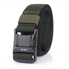 Tactical-Belt Metal-Buckle Fishing-Training-Accessories Nylon Army Quick-Release Military