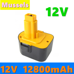 12800mAh 12V DC9071 Rechargeable Battery For Dewalt DW9072 DW9071 DC9071 DE9037 DE9071 DE9072 DE9074 DE9075 152250-27 L10