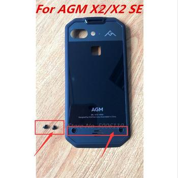 New Original For AGM X2/ X2 SE 5.5inch Battery Cover Housings Case Durable Frame+ Screws 1
