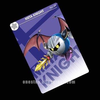 Meta Knight NFC Amiibo tarjeta Super Smash Bros final interruptor