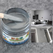 Wood Varnish Water-based Paint Acrylic Lacquer for Coating Fabric Furniture Wall Ceramic Metal Hand-painted100g Gray