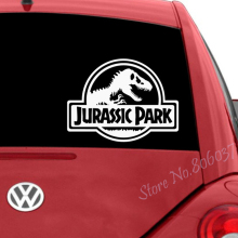 Jurassic Park Dinosaur Car Stickers Funny Creative Decoration Decals For Doors Auto Tuning Styling Vinyls WL696 50cm skulls punisher pentacle five pointed star car stickers creative decoration decals for doors vinyls auto tuning styling d20
