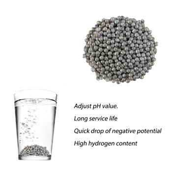 Magnez (Mg) cząstki metalu negatywny potencjał magnez granulki kulki metalowe granulki fasoli kula 50G 100G tanie i dobre opinie Magnesium Granule Balls Cynku
