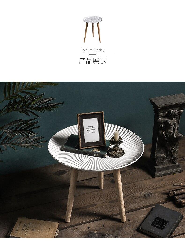 Луи Мода журнальные столы простой круглый маленькая полка для чая творческий дом гостиная спальня уголок