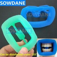 Тип Стоматологическая Ортодонтическая щеточка для щек, Retracor зуб Интраоральная Ретрактор для щек, губ Рот открывалка мягкий силиконовый Уход за полостью рта Отбеливание