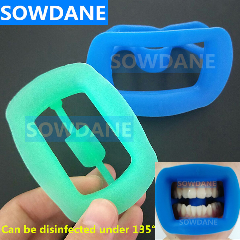 New Type Dental Orthodontic Cheek Retractor Tooth Intraoral Lip Cheek Retractor Mouth Opener Soft Silicone Oral Care Whitening