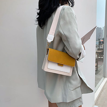 Women Fashion Small Square Bag Color Youth Female Chain Layered Trend Ladies Candy Daily Shoulder Yellow