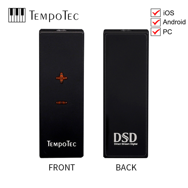 Headphone Amplifier TempoTec Sonata HD PRO type C TO 3.5 mm DSD256 For Android / iOS / PC adapter DAC